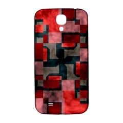 Textured Shapes Samsung Galaxy S4 I9500/i9505  Hardshell Back Case by LalyLauraFLM