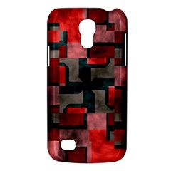 Textured shapes Samsung Galaxy S4 Mini (GT-I9190) Hardshell Case  by LalyLauraFLM
