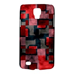 Textured Shapes Samsung Galaxy S4 Active (i9295) Hardshell Case by LalyLauraFLM