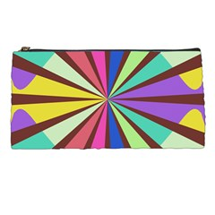 Rays In Retro Colors Pencil Case by LalyLauraFLM
