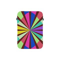 Rays In Retro Colors Apple Ipad Mini Protective Soft Case by LalyLauraFLM