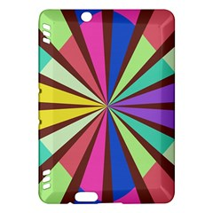 Rays In Retro Colorskindle Fire Hdx Hardshell Case by LalyLauraFLM