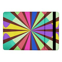 Rays In Retro Colors	samsung Galaxy Tab Pro 10 1  Flip Case by LalyLauraFLM