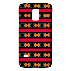 Rhombus and stripes patternSamsung Galaxy S5 Mini Hardshell Case by LalyLauraFLM