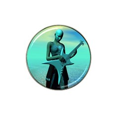 Sad Guitar Hat Clip Ball Marker (10 pack) by icarusismartdesigns