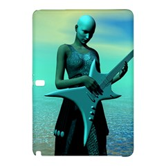 Sad Guitar Samsung Galaxy Tab Pro 10 1 Hardshell Case by icarusismartdesigns
