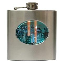 New York 2014 1206 Hip Flask (6 oz) by JAMFoto