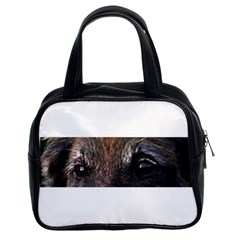 Belgian Tervueren Eyes Classic Handbags (2 Sides) by TailWags