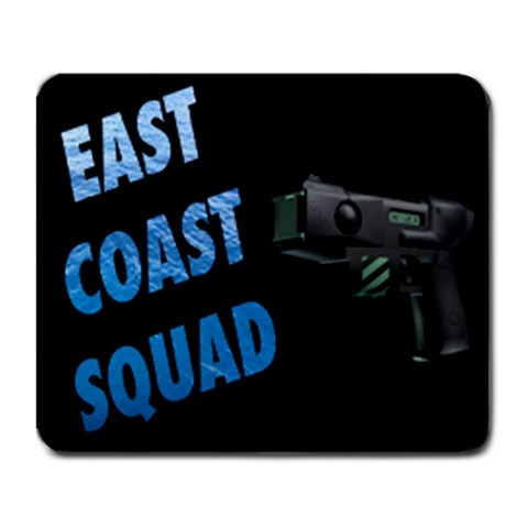 Zeus Blazers / East Coast Squad Mousepad By Riley Dickerson Front