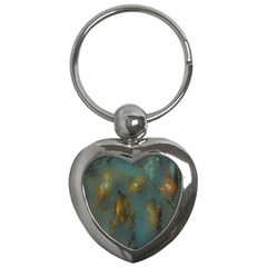 Broken Pieces Key Chains (heart)  by theunrulyartist