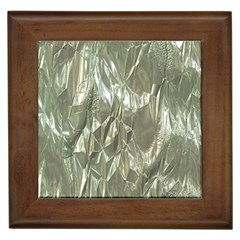 Crumpled Foil Framed Tiles by MoreColorsinLife