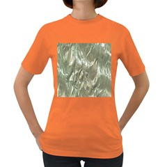 Crumpled Foil Women s Dark T Shirt by MoreColorsinLife