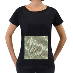 Crumpled Foil Women s Loose Fit T Shirt (black) by MoreColorsinLife