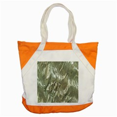 Crumpled Foil Accent Tote Bag  by MoreColorsinLife