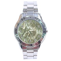 Crumpled Foil Stainless Steel Men s Watch by MoreColorsinLife