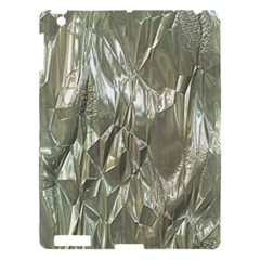 Crumpled Foil Apple Ipad 3/4 Hardshell Case by MoreColorsinLife