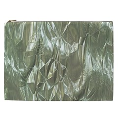 Crumpled Foil Cosmetic Bag (xxl)  by MoreColorsinLife