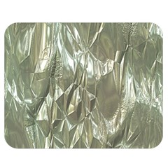 Crumpled Foil Double Sided Flano Blanket (medium)  by MoreColorsinLife