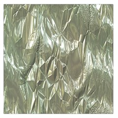 Crumpled Foil Large Satin Scarf (square) by MoreColorsinLife