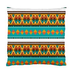 Tribal Design In Retro Colors Standard Cushion Case (two Sides) by LalyLauraFLM