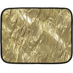 Crumpled Foil Golden Fleece Blanket (mini)