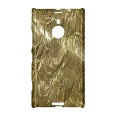 Crumpled Foil Golden Nokia Lumia 1520 by MoreColorsinLife