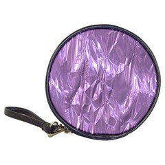 Crumpled Foil Lilac Classic 20 Cd Wallets by MoreColorsinLife