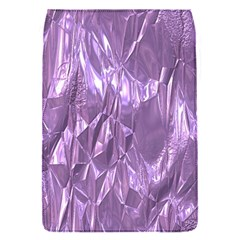 Crumpled Foil Lilac Flap Covers (s)  by MoreColorsinLife
