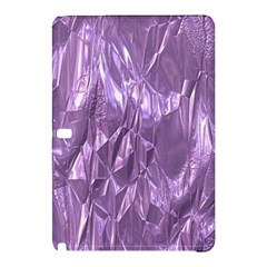 Crumpled Foil Lilac Samsung Galaxy Tab Pro 10 1 Hardshell Case by MoreColorsinLife