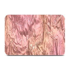 Crumpled Foil Pink Plate Mats by MoreColorsinLife