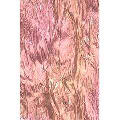 Crumpled Foil Pink 5 5  X 8 5  Notebooks by MoreColorsinLife