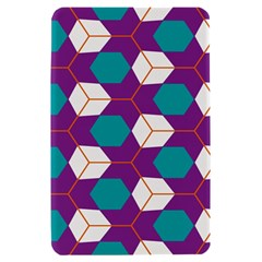 Cubes in honeycomb pattern Kindle Fire (1st Gen) Hardshell Case by LalyLauraFLM