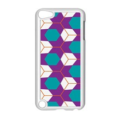 Cubes In Honeycomb Pattern Apple Ipod Touch 5 Case (white) by LalyLauraFLM