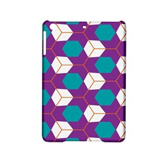 Cubes In Honeycomb Pattern Apple Ipad Mini 2 Hardshell Case by LalyLauraFLM