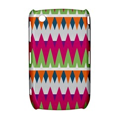 Chevron pattern BlackBerry Curve 8520 9300 Hardshell Case  by LalyLauraFLM