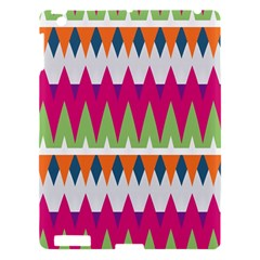 Chevron Pattern Apple Ipad 3/4 Hardshell Case by LalyLauraFLM