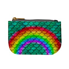 Rainbow Scales Coin Change Purse by Ellador