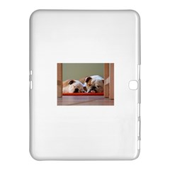 2 Sleeping Bulldogs Samsung Galaxy Tab 4 (10.1 ) Hardshell Case  by TailWags