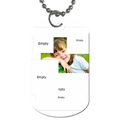 Xmas By Xmas   Dog Tag (two Sides)   16obrfgpw5mq   Www Artscow Com Back
