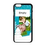 xmas - Apple iPhone 6/6S Black Enamel Case
