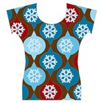holiday fun top - Women s Cap Sleeve Top