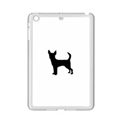 Chihuahua Silhouette iPad Mini 2 Enamel Coated Cases by TailWags