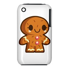Gingerman Apple iPhone 3G/3GS Hardshell Case (PC+Silicone) by TailWags