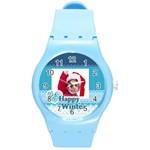 xmas - Round Plastic Sport Watch (M)