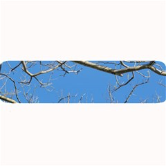 Leafless Tree Branches Against Blue Sky Large Bar Mats by dflcprints