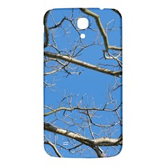 Leafless Tree Branches Against Blue Sky Samsung Galaxy Mega I9200 Hardshell Back Case by dflcprints
