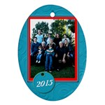 grandkids223 - Ornament (Oval)
