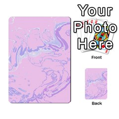 Unique Marbled 2 Baby Pink Multi Purpose Cards (rectangle)  by MoreColorsinLife