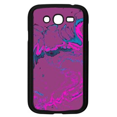 Unique Marbled 2 Hot Pink Samsung Galaxy Grand Duos I9082 Case (black) by MoreColorsinLife