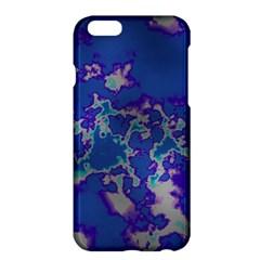 Unique Marbled Blue Apple Iphone 6 Plus/6s Plus Hardshell Case by MoreColorsinLife
